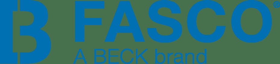 Logo Fasco Beck Niebieskie